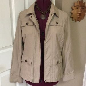 Croft & Barrow Khaki Jacket